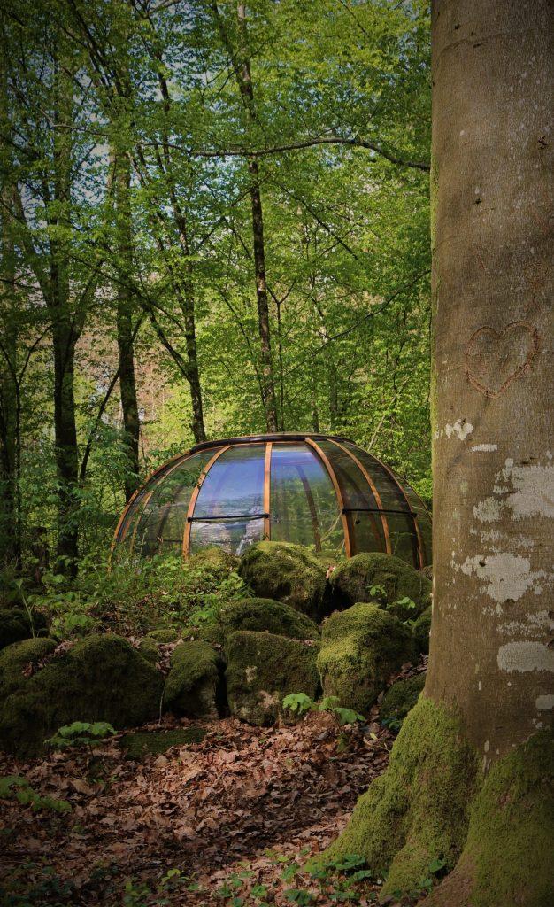 Außergewöhnlich Übernachten -dome ext