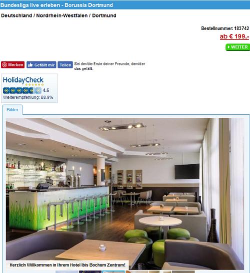 Bundesliga -hotel-deals-screenshot