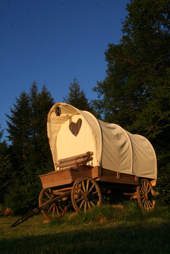 Hütte und Wagen Hotels - cabane et chariot - Außergewöhnlicher Kurztrip nach Frankreich