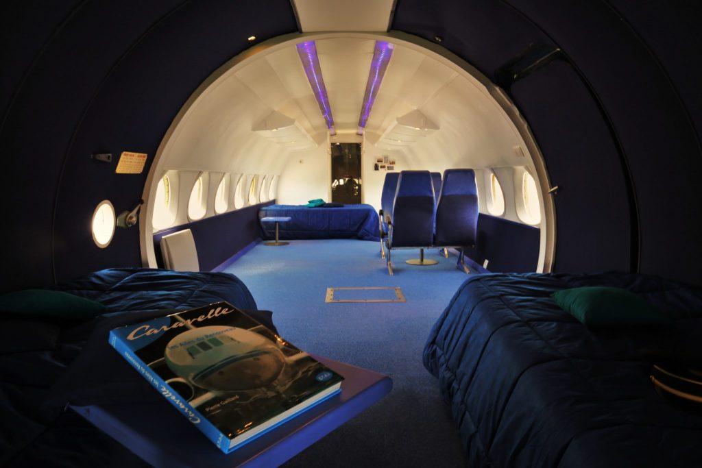 Flugzeug Hotel - Übernachten im Flugzeug