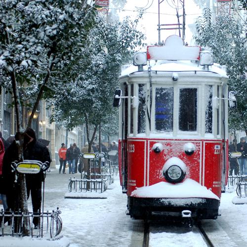 istanbul türkei - winter