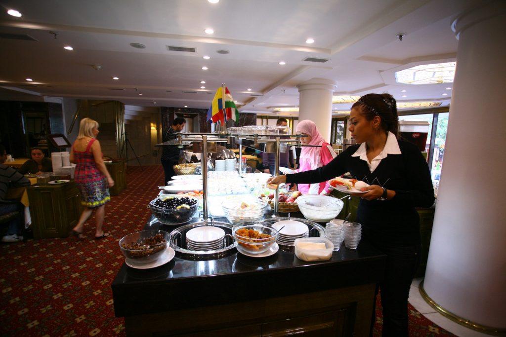 Hotel Royal Frühstücksbuffet Bilder