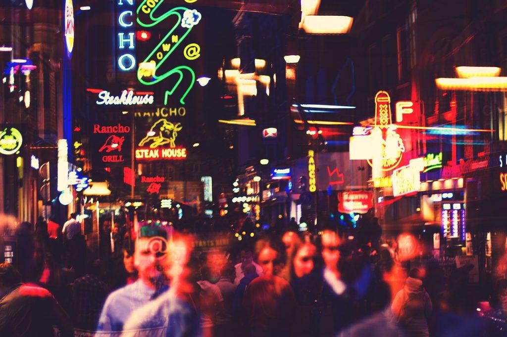 Städtereise Amsterdam Nacht