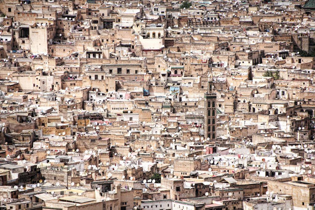 Marrakesch Stadt in Marokko