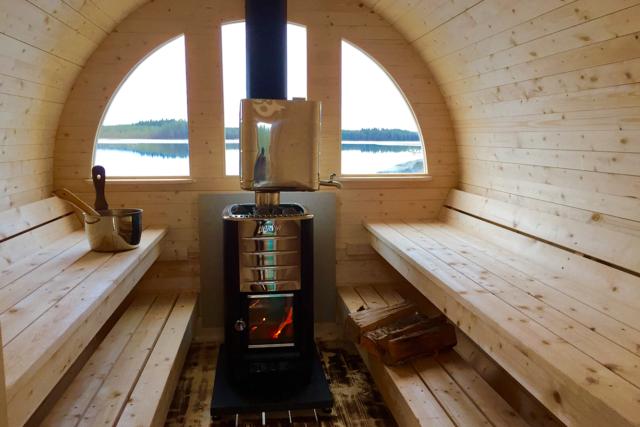 Nya-bastun Sauna