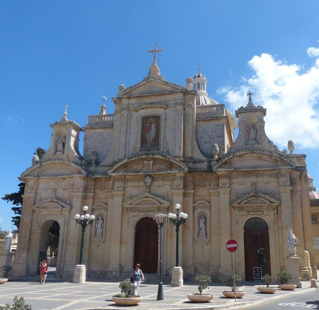 Bilder St Pauls Kirche in Rabat