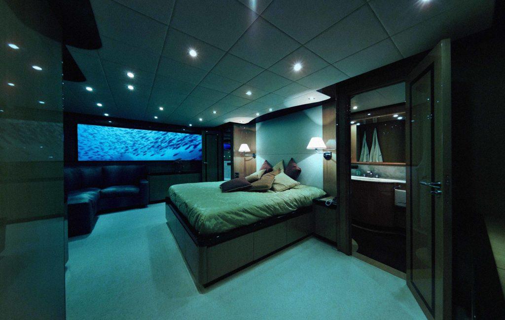 Deep U-Boot Lovers Schlafzimmer