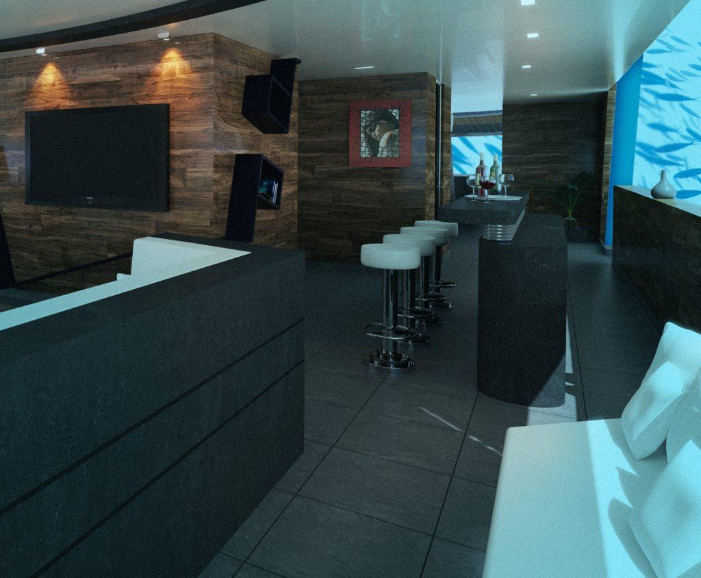 Deep U-Boot Lovers Lounge-Bar - Luxushotel Karibik