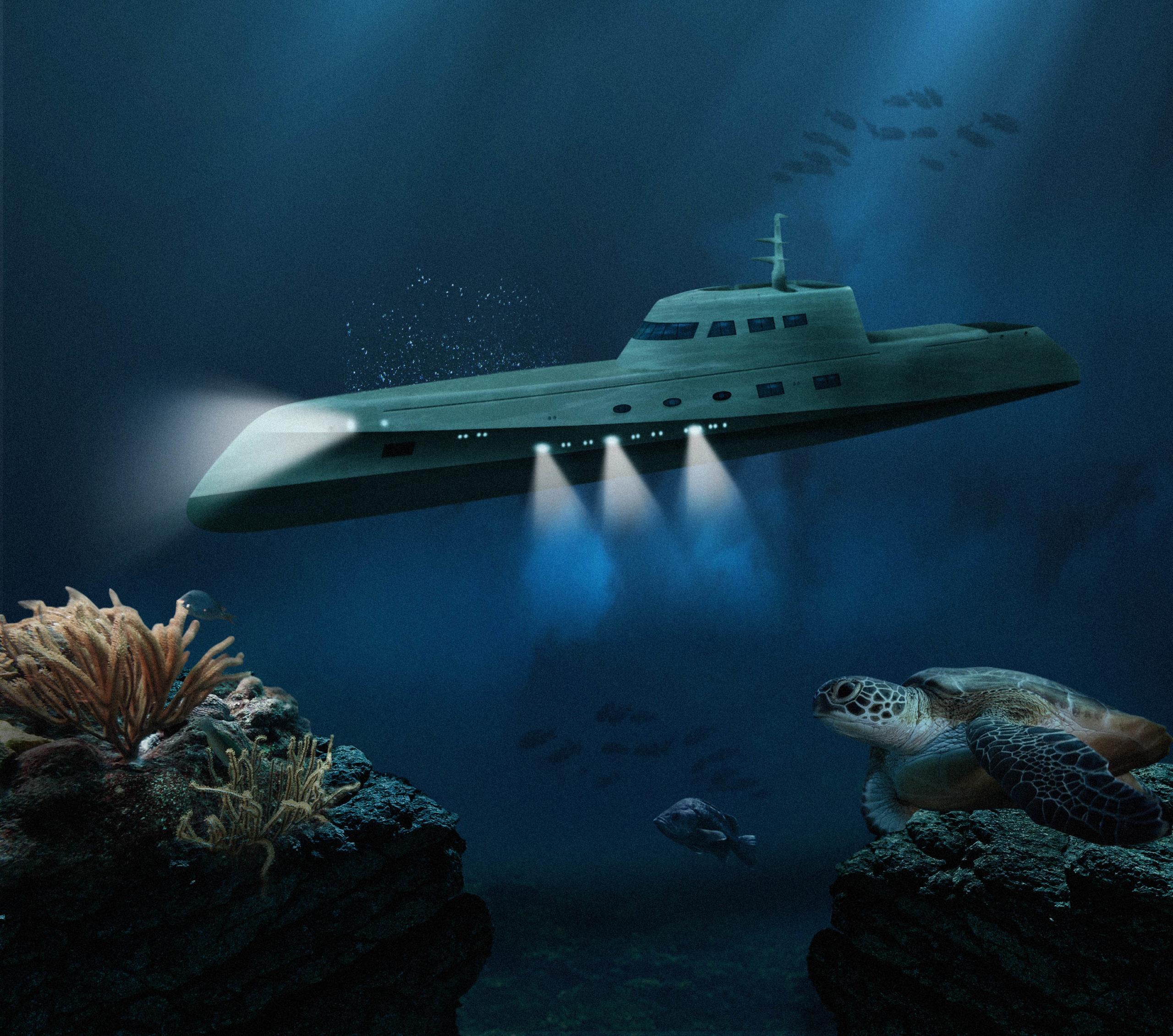 Luxushotel Karibik - Deep U-Boot Lovers