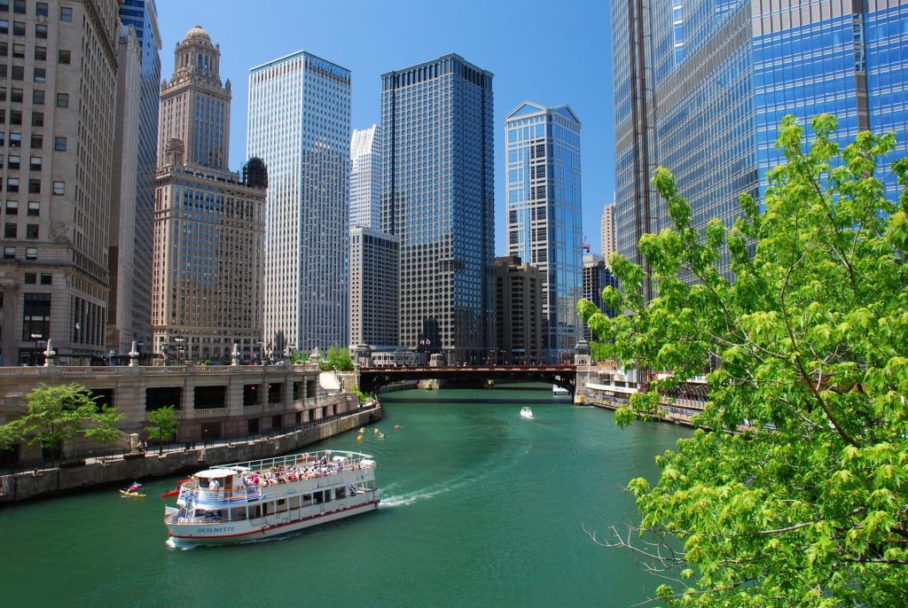 Chicago River USA
