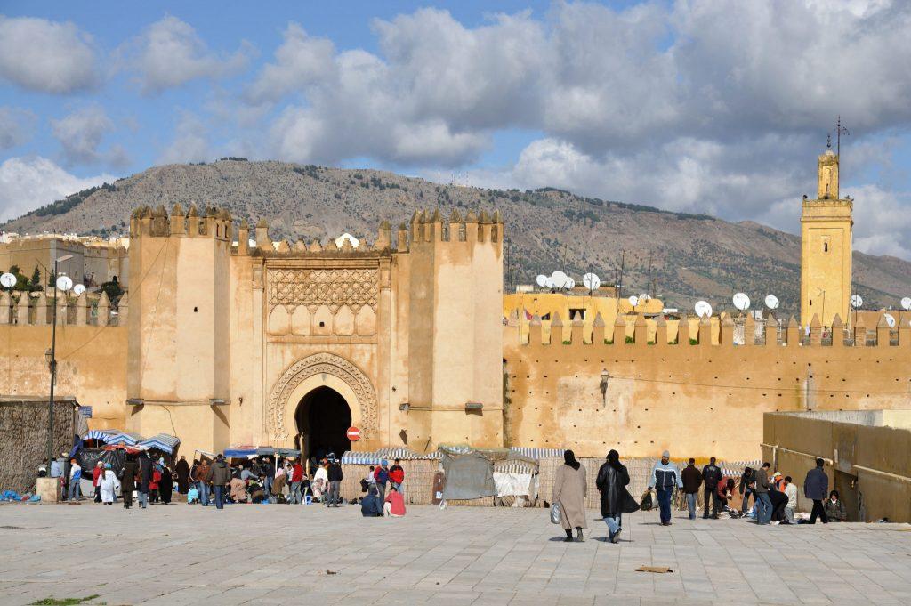 Tor zur Medina in Fes, Marokko