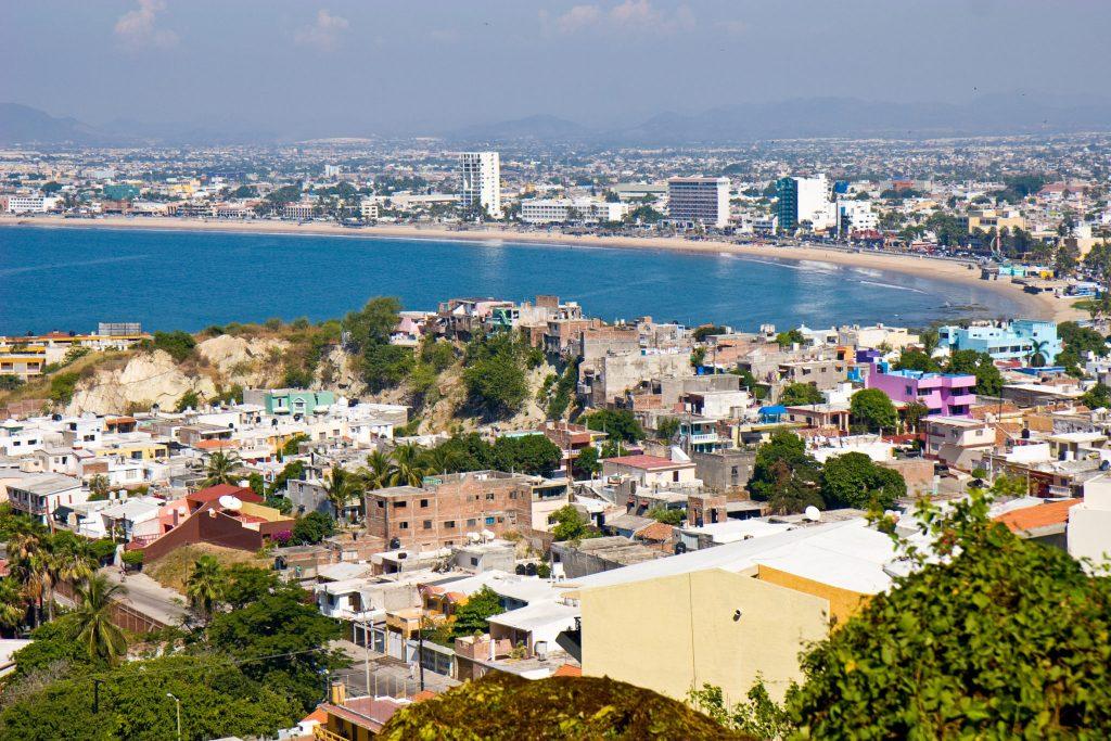 Overlooking Mazatlan, Mexico