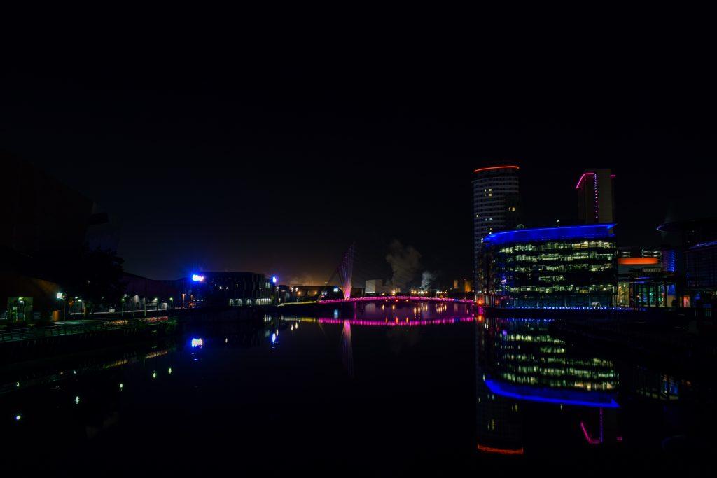 Abend Bilder von Manchester