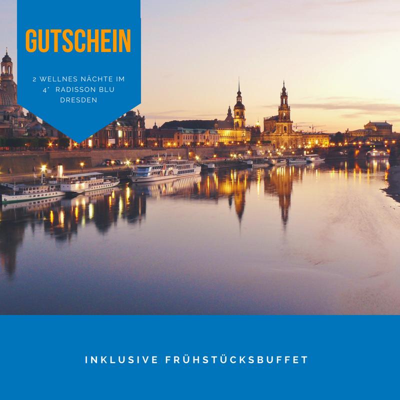 GUTSCHEIN 2 Wellness Nächte in Dresden