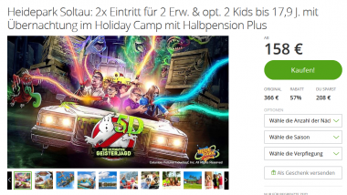 Heidepark Soltau Angebote -Deal Screenshot