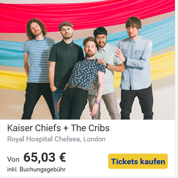 Kultur in London- Kaiser Chief