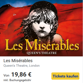 Kultur in London- Miserables