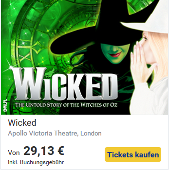 Kultur in London- Wicked
