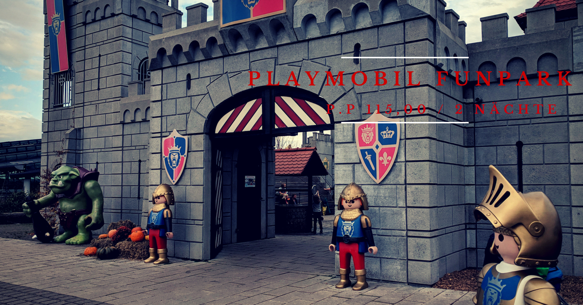 Playmobil Funpark mit übernachtung und Eintrittskarte ab 55€ 1