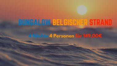 Middelkerke Strand Bungalow für 4 Nächte ab 149,00€ für 4 Personen 4