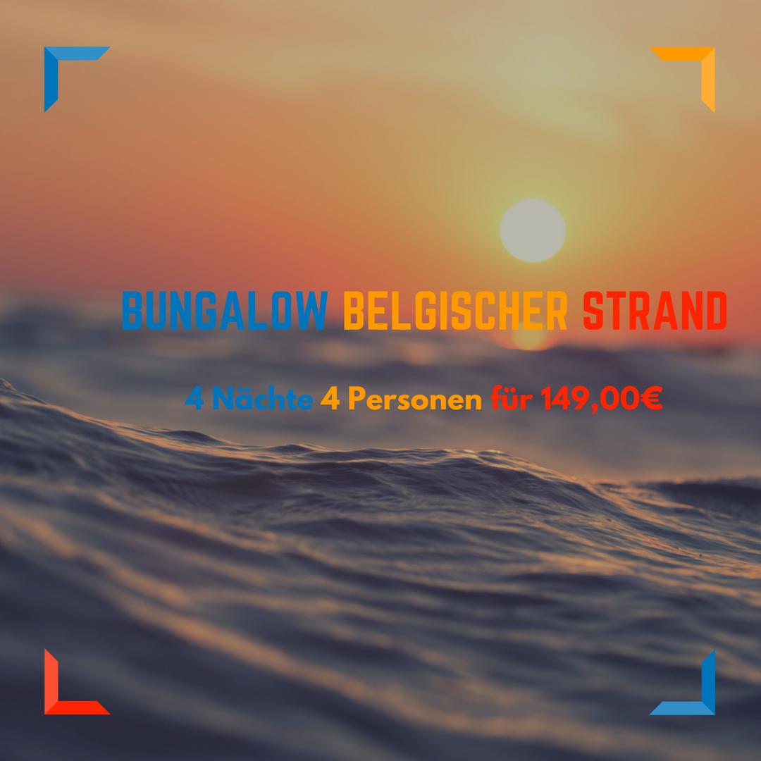 Middelkerke Strand Bungalow für 4 Nächte ab 149,00€ für 4 Personen 1