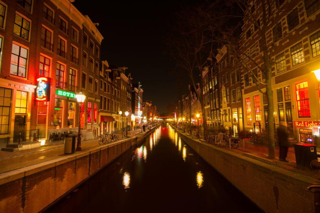 City Trip Amsterdam Red Light District