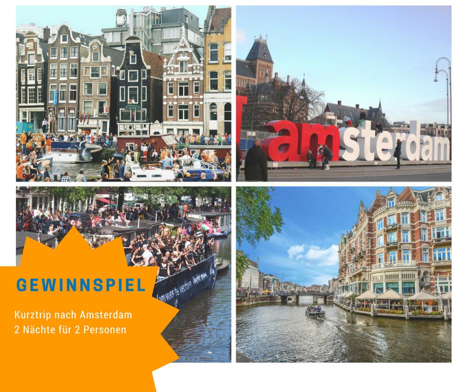 Amsterdam Gewinnspiel