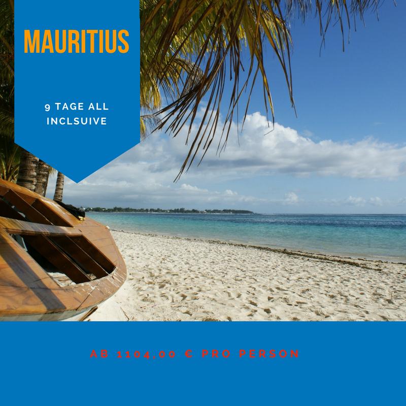 Pauschalreisen Mauritius All inclusive 9 Tage ab 1104,00€ 1