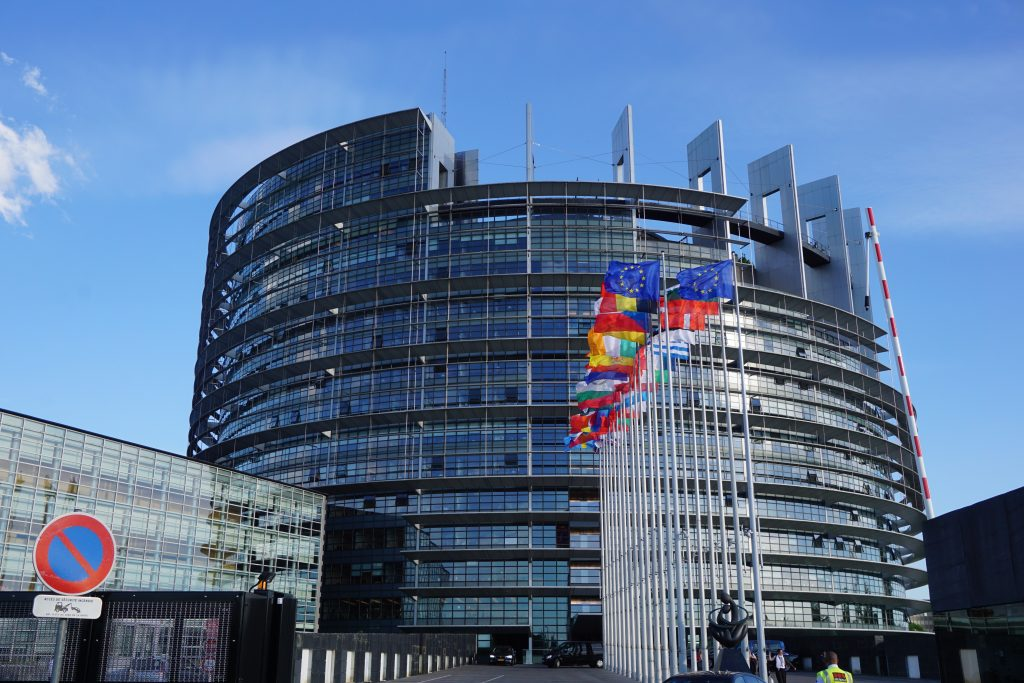 Straßburg das Europäische Parlament