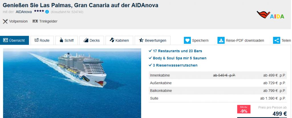 Screenshot Deal-Aida Gran Canaria