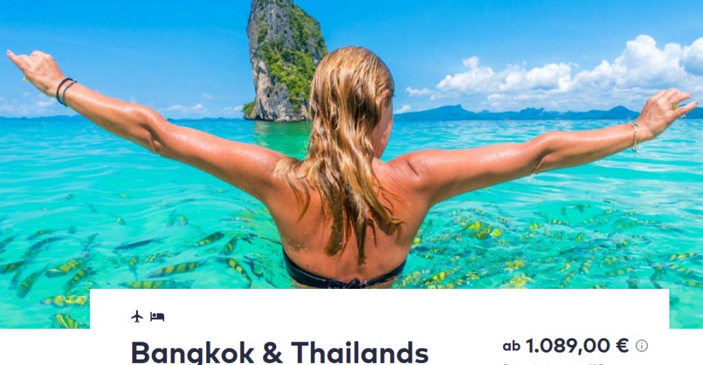 Screenshot Deal - Fernreiseziele Tipps Rundreise Bangkok
