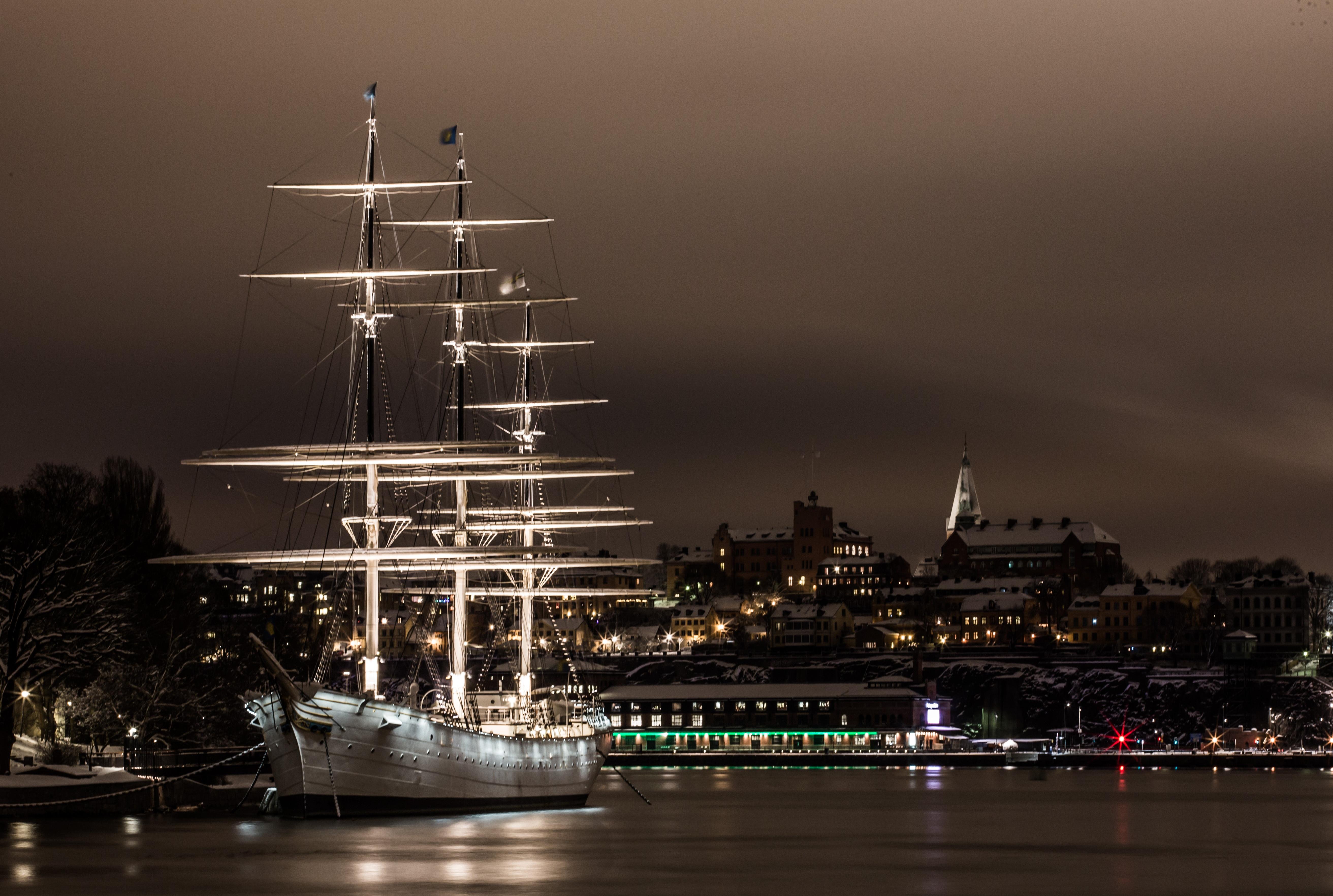 Stockholm die Nacht im Hotelboot 179,00€ mit Flug & 3 Nächte im Hotel