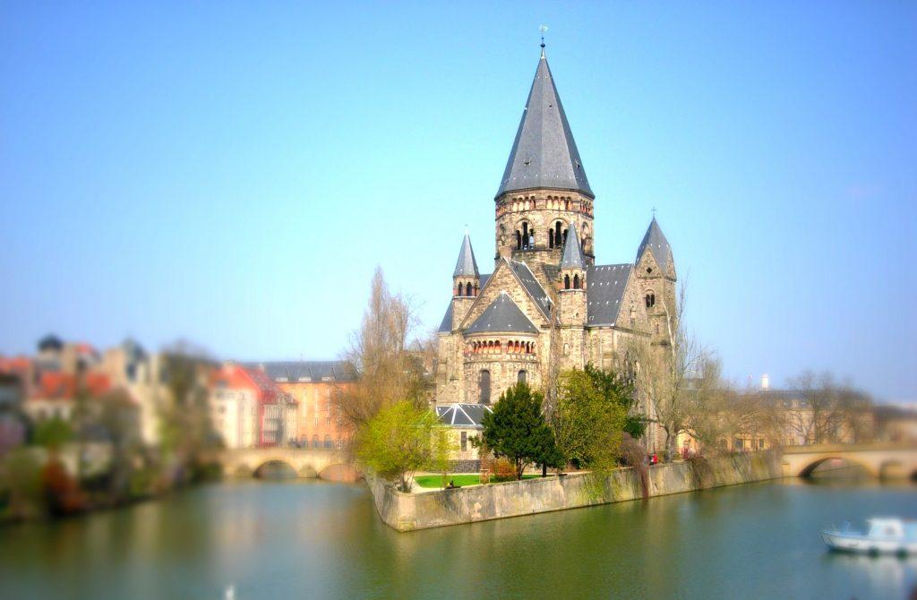 Kunst in Metz erleben -Mosel