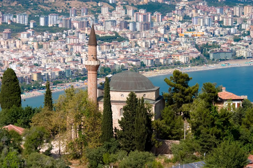 Stadt Side Türkei