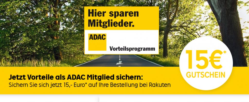 Screenshot Deal -ADAC Gutscheine und Vorteile