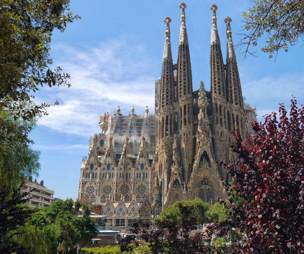 Die Sagrada Família Katholische Basilika in Barcelona