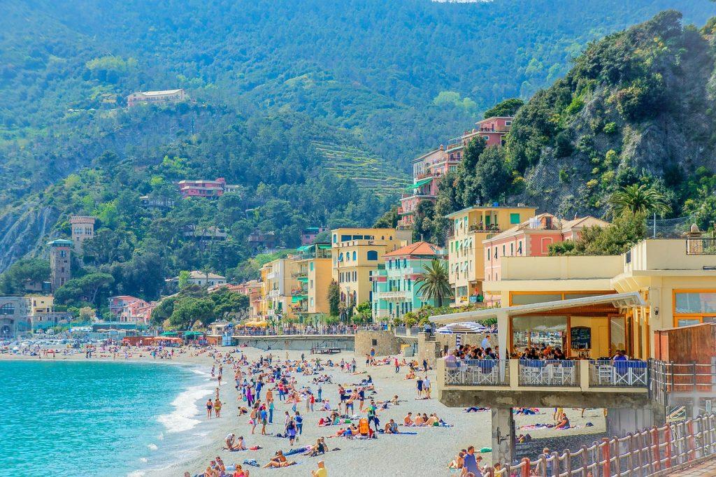 la spezia strandpromenade