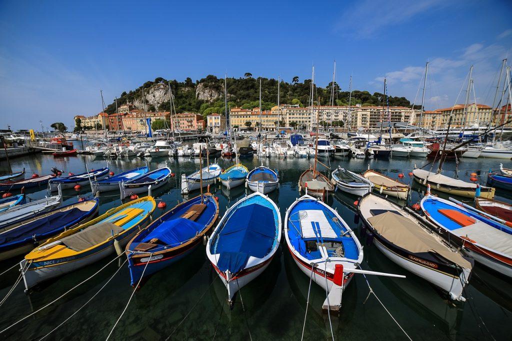 Frankreich, Cote d Azur, Cannes, Blick über alten Hafen