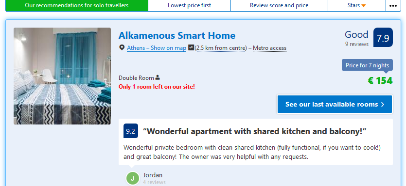 Deal-Screenshot - Hotels in Athens. Book your hotel now