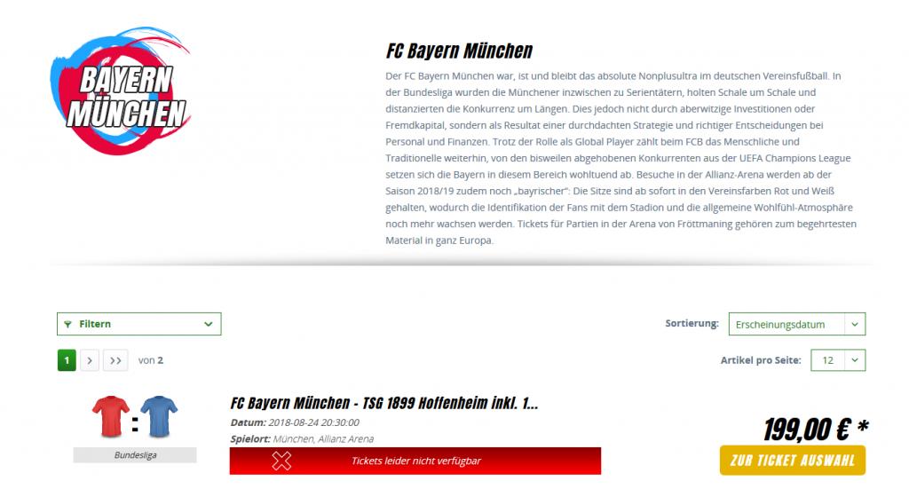 FC Bayern München Tickets1a