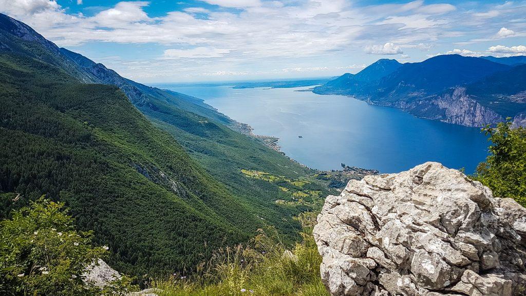 wunderschöne Ausblicke  am Gardasee