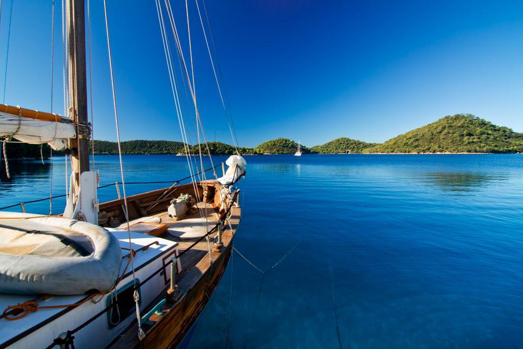Dalmatien Kroatien Segeln an der Küste