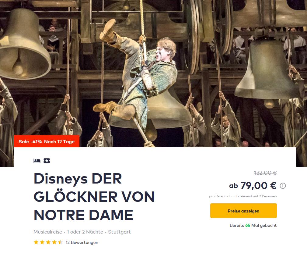 Screenshot Deal- Musical in Stuttgart -Disneys DER GLÖCKNER VON