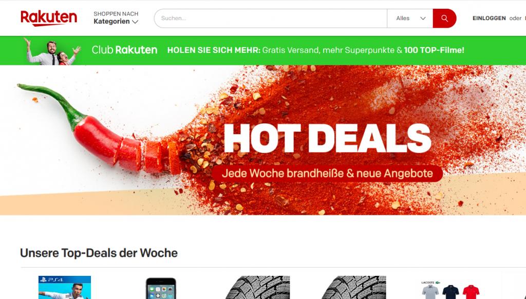 Rakuten.de Handys PCs Software Möbel neueste Mode und mehr günstig online shoppen Rakuten