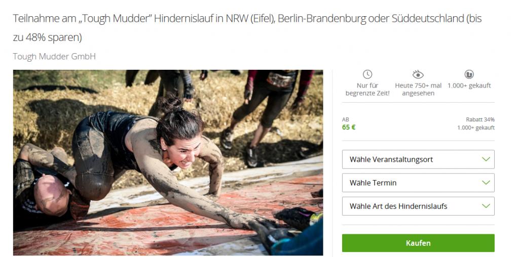 Screenshot Deal--Tough Mudder