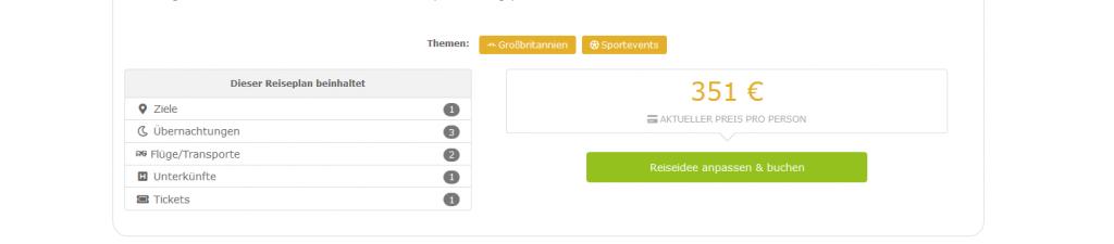 Screenshot Günstig Premier League