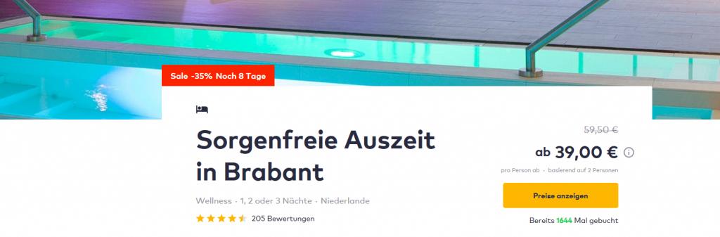 Screenshot Deal - 3 Tage Wellnessurlaub All inclusive