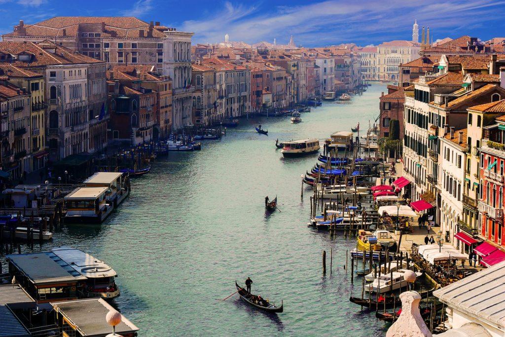 Auf ewige Liebe - Panorama -Günstige Reise nach Venedig