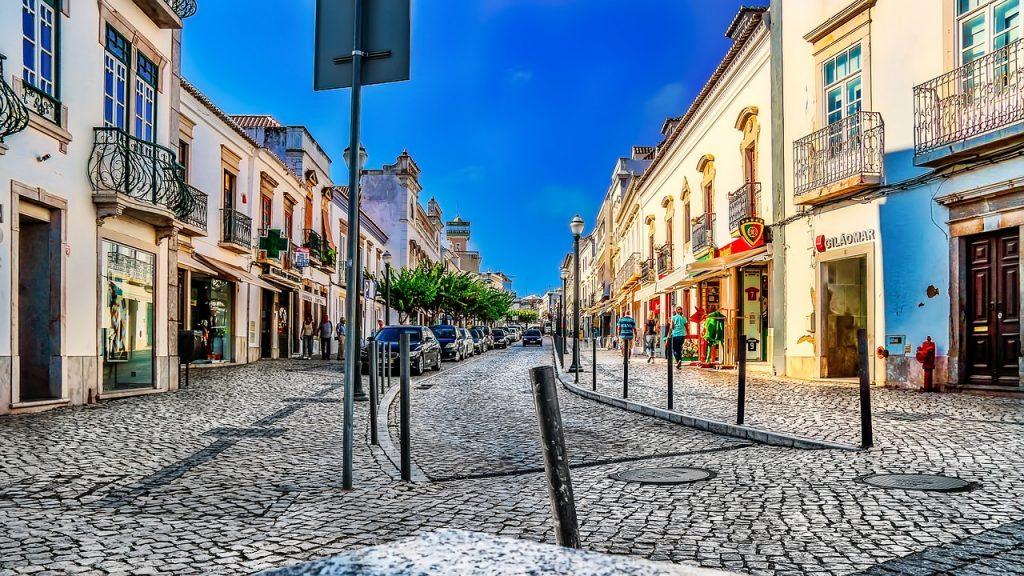 Alvor Altstadt Portugal