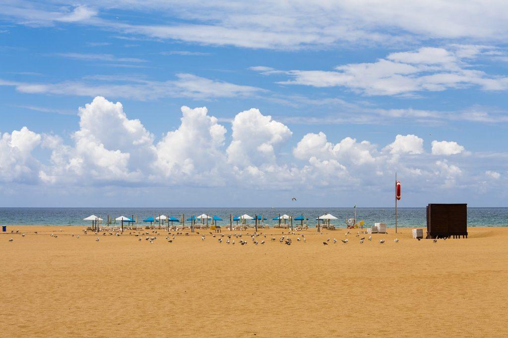 alvor portugal strand
